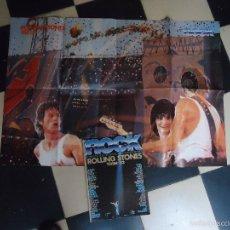 Revistas de música: ROLLING STONES (TOUR-82)REVISTA ROCK ESPEZIAL.NUMERO EXTRA..AÑO1982/INCLUYE POSTER GIGANTE. Lote 60717111