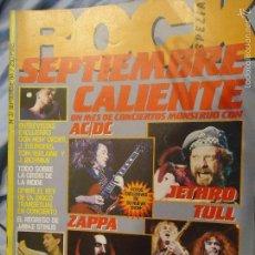 Revistas de música: ROCK ESPEZIAL - Nº 37 - SEPTIEMBRE 1984 - AC/DC - JETHRO TULL - ZAPPA - IRON MAIDEN - EN PORTADA. Lote 60729903