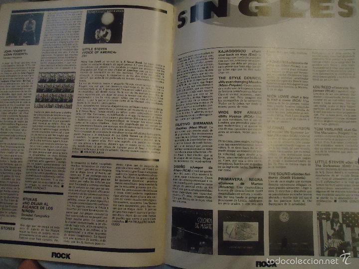 Revistas de música: ROCK ESPEZIAL - Nº 37 - SEPTIEMBRE 1984 - AC/DC - JETHRO TULL - ZAPPA - IRON MAIDEN - EN PORTADA - Foto 2 - 60729903