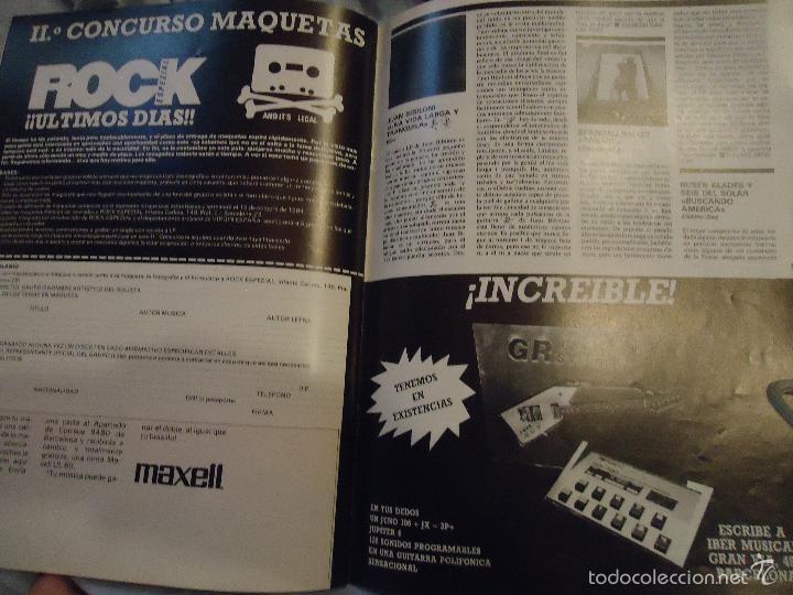 Revistas de música: ROCK ESPEZIAL - Nº 37 - SEPTIEMBRE 1984 - AC/DC - JETHRO TULL - ZAPPA - IRON MAIDEN - EN PORTADA - Foto 4 - 60729903