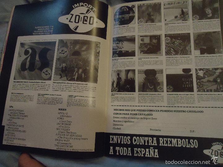 Revistas de música: ROCK ESPEZIAL - Nº 37 - SEPTIEMBRE 1984 - AC/DC - JETHRO TULL - ZAPPA - IRON MAIDEN - EN PORTADA - Foto 6 - 60729903