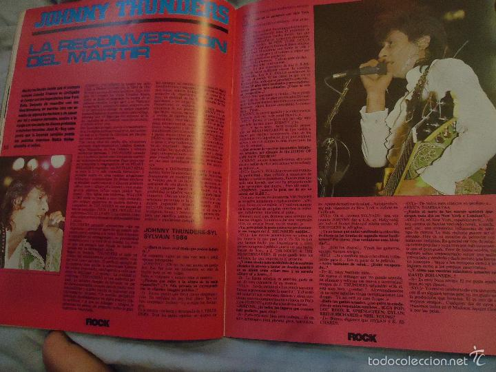 Revistas de música: ROCK ESPEZIAL - Nº 37 - SEPTIEMBRE 1984 - AC/DC - JETHRO TULL - ZAPPA - IRON MAIDEN - EN PORTADA - Foto 7 - 60729903