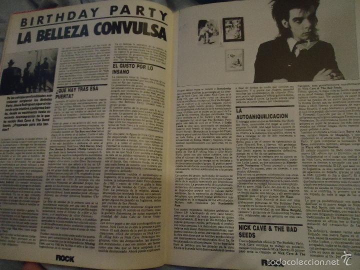 Revistas de música: ROCK ESPEZIAL - Nº 37 - SEPTIEMBRE 1984 - AC/DC - JETHRO TULL - ZAPPA - IRON MAIDEN - EN PORTADA - Foto 10 - 60729903