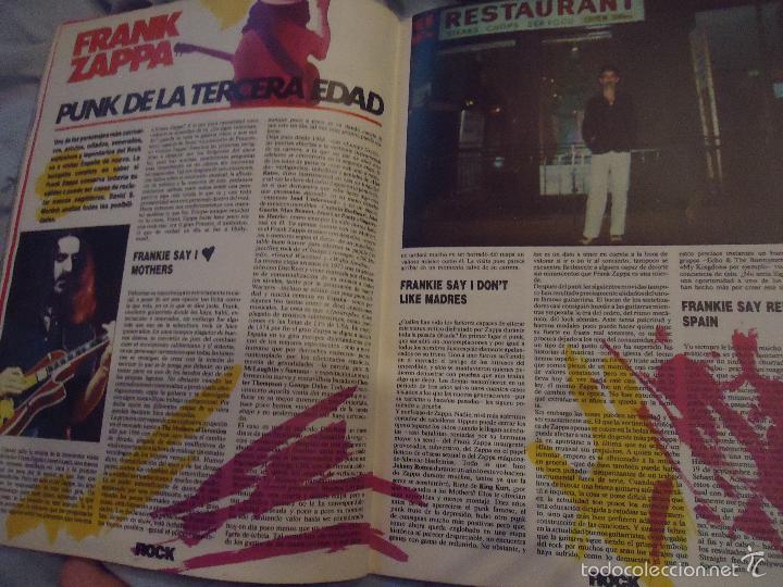 Revistas de música: ROCK ESPEZIAL - Nº 37 - SEPTIEMBRE 1984 - AC/DC - JETHRO TULL - ZAPPA - IRON MAIDEN - EN PORTADA - Foto 11 - 60729903