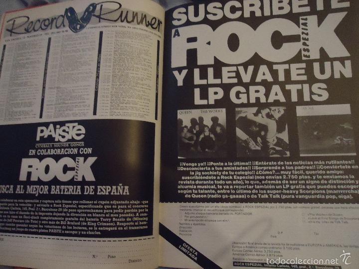 Revistas de música: ROCK ESPEZIAL - Nº 37 - SEPTIEMBRE 1984 - AC/DC - JETHRO TULL - ZAPPA - IRON MAIDEN - EN PORTADA - Foto 12 - 60729903