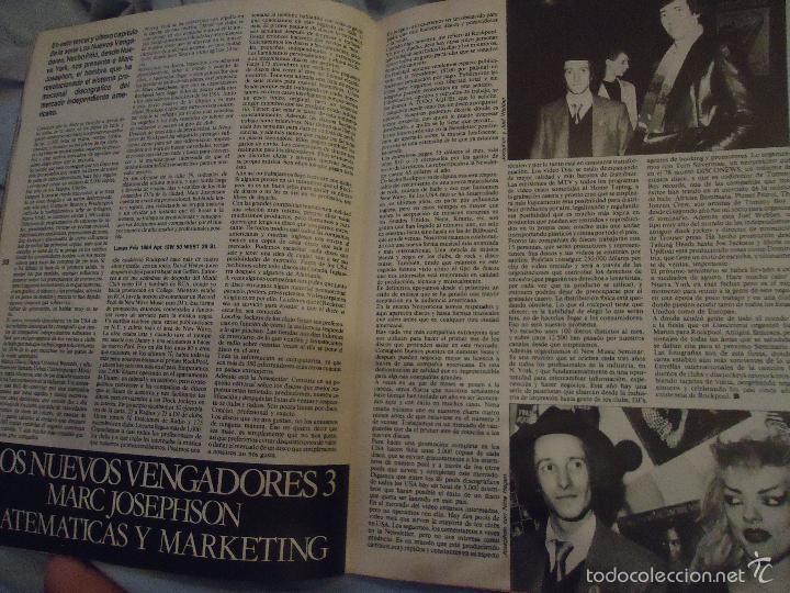 Revistas de música: ROCK ESPEZIAL - Nº 37 - SEPTIEMBRE 1984 - AC/DC - JETHRO TULL - ZAPPA - IRON MAIDEN - EN PORTADA - Foto 14 - 60729903
