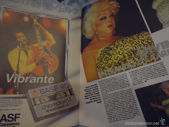 Revistas de música: ROCK ESPEZIAL - Nº 37 - SEPTIEMBRE 1984 - AC/DC - JETHRO TULL - ZAPPA - IRON MAIDEN - EN PORTADA - Foto 15 - 60729903