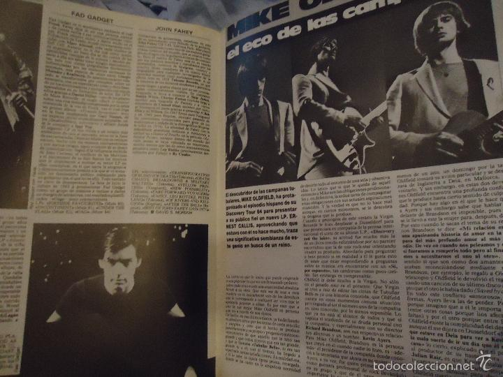 Revistas de música: ROCK ESPEZIAL - Nº 37 - SEPTIEMBRE 1984 - AC/DC - JETHRO TULL - ZAPPA - IRON MAIDEN - EN PORTADA - Foto 16 - 60729903