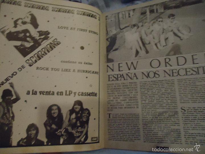 Revistas de música: ROCK ESPEZIAL - Nº 37 - SEPTIEMBRE 1984 - AC/DC - JETHRO TULL - ZAPPA - IRON MAIDEN - EN PORTADA - Foto 20 - 60729903