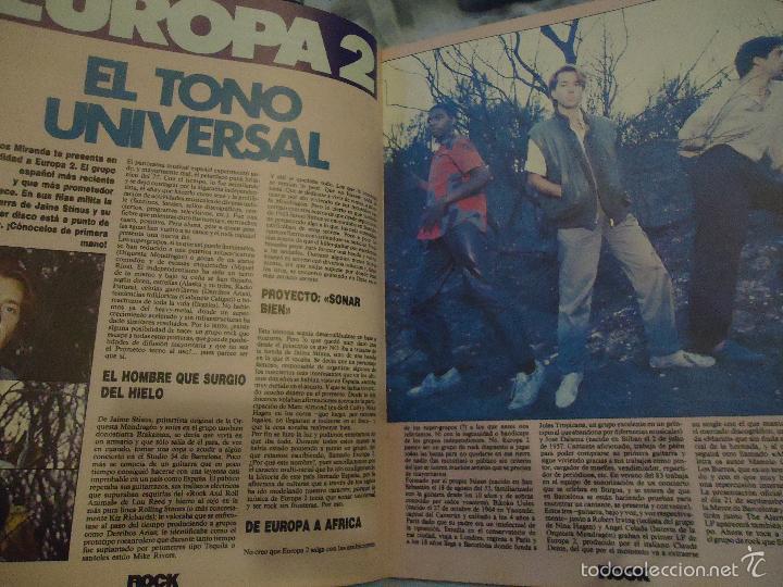 Revistas de música: ROCK ESPEZIAL - Nº 37 - SEPTIEMBRE 1984 - AC/DC - JETHRO TULL - ZAPPA - IRON MAIDEN - EN PORTADA - Foto 21 - 60729903