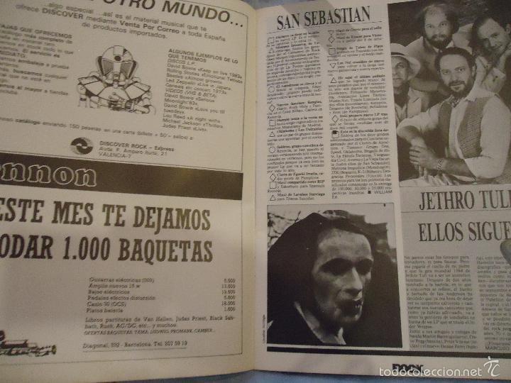 Revistas de música: ROCK ESPEZIAL - Nº 37 - SEPTIEMBRE 1984 - AC/DC - JETHRO TULL - ZAPPA - IRON MAIDEN - EN PORTADA - Foto 26 - 60729903
