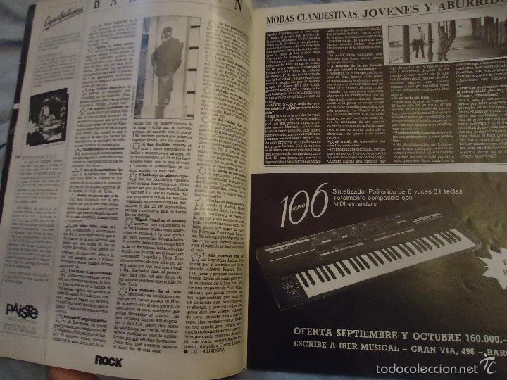 Revistas de música: ROCK ESPEZIAL - Nº 37 - SEPTIEMBRE 1984 - AC/DC - JETHRO TULL - ZAPPA - IRON MAIDEN - EN PORTADA - Foto 27 - 60729903
