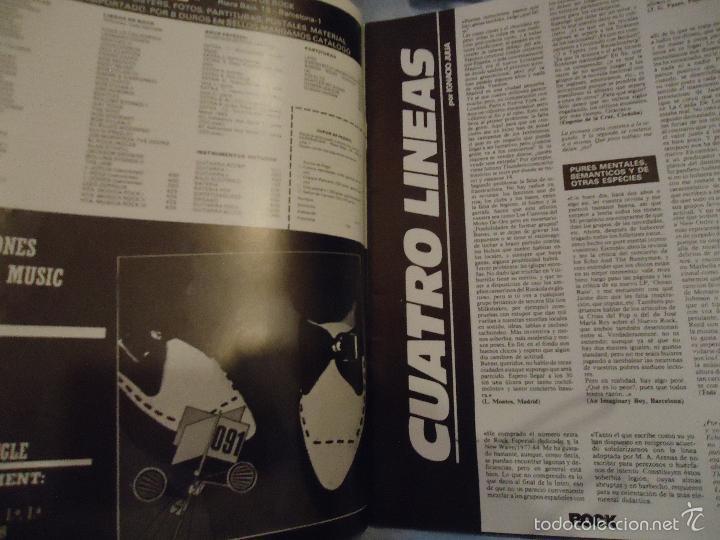 Revistas de música: ROCK ESPEZIAL - Nº 37 - SEPTIEMBRE 1984 - AC/DC - JETHRO TULL - ZAPPA - IRON MAIDEN - EN PORTADA - Foto 30 - 60729903