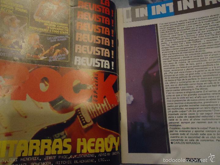 Revistas de música: ROCK ESPEZIAL - Nº 37 - SEPTIEMBRE 1984 - AC/DC - JETHRO TULL - ZAPPA - IRON MAIDEN - EN PORTADA - Foto 31 - 60729903