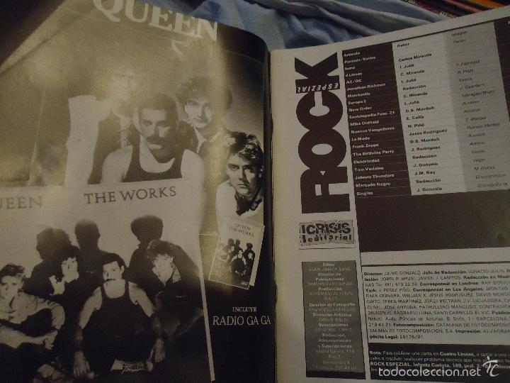 Revistas de música: ROCK ESPEZIAL - Nº 37 - SEPTIEMBRE 1984 - AC/DC - JETHRO TULL - ZAPPA - IRON MAIDEN - EN PORTADA - Foto 32 - 60729903