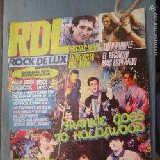 Revistas de música: REVISTA RDL ROCK DE LUX Nº 2 1984 MIGUEL RIOS MECANO DEEP PURPLE SCORPIONS OBUS LA UNION + POSTER. Lote 60764791