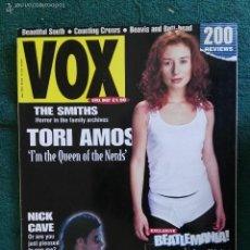 Revistas de música: REVISTA VOX BEATLES TORI AMOS NICK CAVE THE SMITHS. Lote 60881723