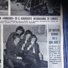 Revistas de música: THE BEATLES - LA VANGUARDIA 28.10.1965. Lote 60967277