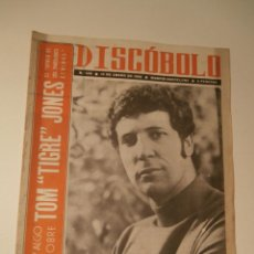 Revistas de música: REVISTA DISCOBOLO Nº 140, 13 ENERO 1968, TOM JONES, SPENCER DAVIS . Lote 61007443