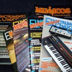 Revistas de música: LOTE DE 33 REVISTAS EL INSTRUMENTO MUSICAL-MÚSICOS. Nº 9-42. AÑOS 1981-87+REGALO. Lote 61706340