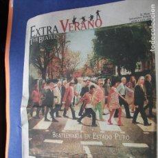 Magazines de musique: EL MUNDO - SUPLEMENTO ESPECIAL EXTRA VERANO - BEATLEMANIA 2010 PDELUXE. Lote 62481596
