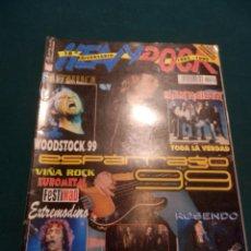 Revistas de música: HEAVY ROCK Nº 189 -METALLICA-IRON MAIDEN-ROSENDO-EXTREMODURO-SOZIEDAD ALKOHOLIKA-KTULU-MURO-KOMA.... Lote 62962416
