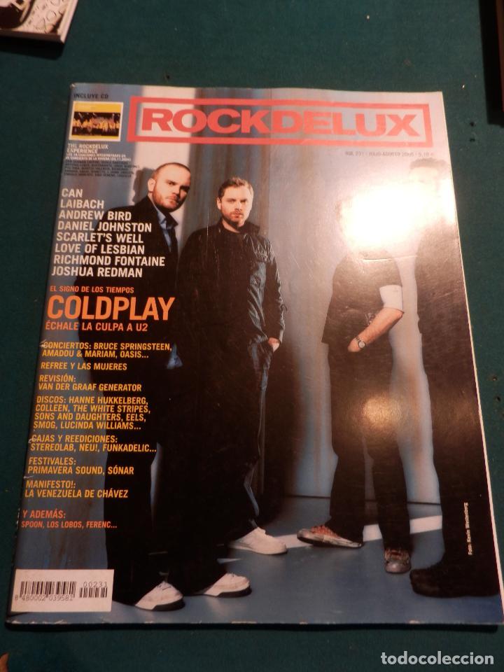 ROCK DE LUX Nº 231 -COLDPLAY-CAN-LAIBACH-ANDREW BIRD-DANIEL JOHNSTON-LOVE OF LESBIAN-R. FONTAINE... (Música - Revistas, Manuales y Cursos)