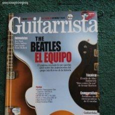 Revistas de música: REVISTA GUITARRISTA THE BEATLES EL EQUIPO . Lote 63521280