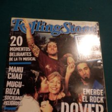 Riviste di musica: ROLLING STONE Nº 48 -DOVER-MANU CHAO & FERMIN MUGURUZA-ROLLING STONESEVANESCENCE-ACERO MAÑAS.... Lote 63717571