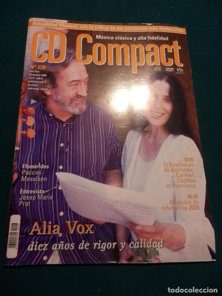 Revistas de música: CD COMPACT - REVISTA DE MÚSICA CLÁSICA Y ALTA FIDELIDAD - LOTE DE 15 Nº 226-233-235-236-237-238... - Foto 7 - 67855689