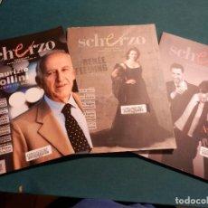 Revistas de música: SCHERZO, REVISTA DE MÚSICA ÓPERA-CLÁSICA - LOTE 21 Nº 244-245-247-248-251-252-253-254-255-256-257.... Lote 63846827