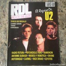 Revistas de música: ROCK DE LUX 28 - MARZO 87 . U2 . RADIO FUTURA . PSYCHEDELIC FURS . MOTORHEAD. Lote 64007811