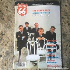 Revistas de música: RUTA 66 Nº 55 - OCT 90 . THE BEACH BOYS . JOHN WATERS . IGGY POP . LOS SALVAJES. Lote 64073631