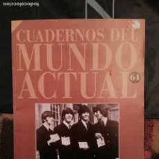 Revistas de música: CUADERNOS DEL MUNDO ACTUAL 64 LA DECADA DE LOS BEATLES HISTORIA 16. Lote 64085619