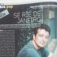 Revistas de música: MANOLO GARCIA REPORTAJE REVISTA 2004. Lote 64120659
