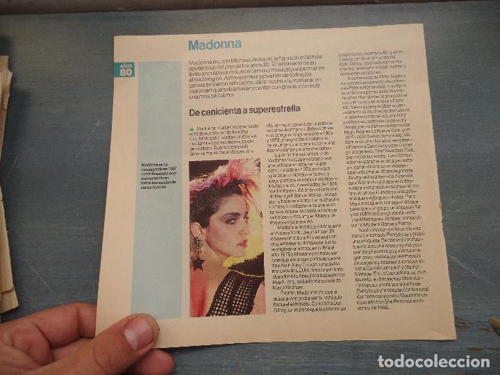hoja revista musica musical - madonna - - Comprar Revistas antiguas ...