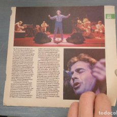 Revistas de música: HOJA REVISTA MUSICA MUSICAL - JOAN MANUEL SERRAT - . Lote 64937307