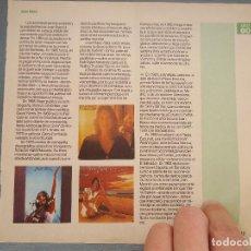 Revistas de música: HOJA REVISTA MUSICA MUSICAL - JOAN BAEZ - . Lote 64942291