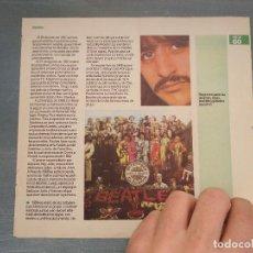 Revistas de música: HOJA REVISTA MUSICA MUSICAL - THE BEATLES - . Lote 64942411