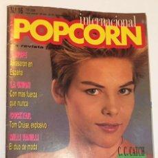 Revistas de música: REVISTA POPCORN INTERNACIONAL NUMERO Nº 16. Lote 65245839