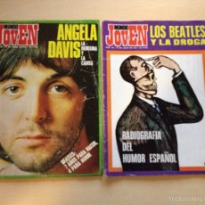 Revistas de música: THE BEATLES - REVISTAS MUNDO JOVEN. Lote 65433534