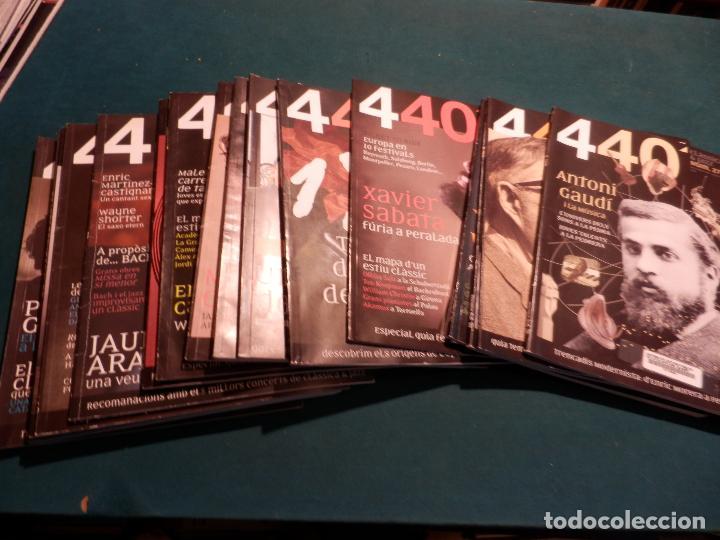 Revistas de música: 440 CLÀSSICA & JAZZ - LOTE 34 REVISTAS EN CATALÀ Nº 2-3-4-5-6-7-8-9-10-11-12-13-14-15-16-17-18-19... - Foto 2 - 65452894