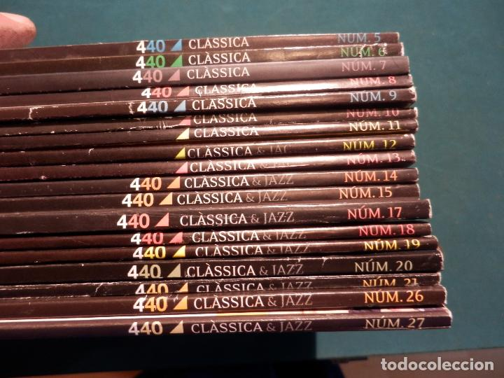 Revistas de música: 440 CLÀSSICA & JAZZ - LOTE 34 REVISTAS EN CATALÀ Nº 2-3-4-5-6-7-8-9-10-11-12-13-14-15-16-17-18-19... - Foto 3 - 65452894