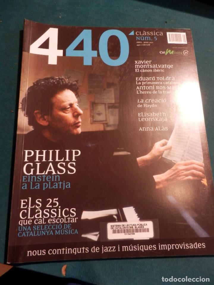 Revistas de música: 440 CLÀSSICA & JAZZ - LOTE 34 REVISTAS EN CATALÀ Nº 2-3-4-5-6-7-8-9-10-11-12-13-14-15-16-17-18-19... - Foto 4 - 65452894