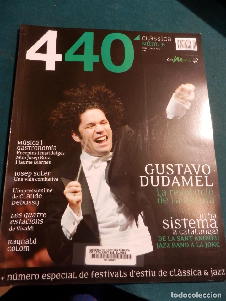 Revistas de música: 440 CLÀSSICA & JAZZ - LOTE 34 REVISTAS EN CATALÀ Nº 2-3-4-5-6-7-8-9-10-11-12-13-14-15-16-17-18-19... - Foto 5 - 65452894