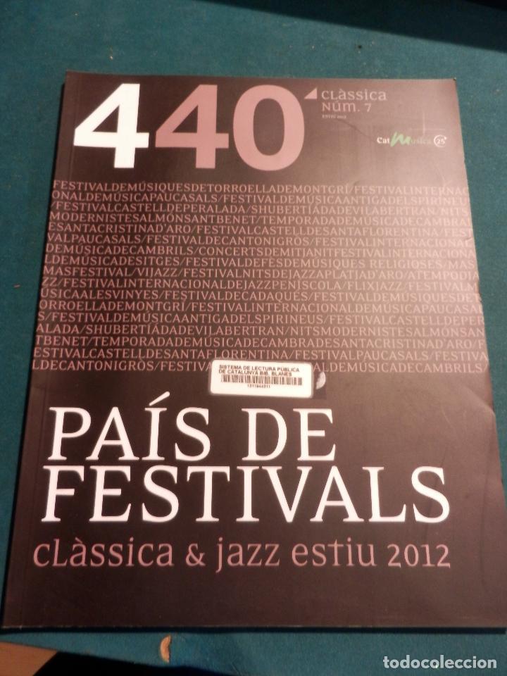 Revistas de música: 440 CLÀSSICA & JAZZ - LOTE 34 REVISTAS EN CATALÀ Nº 2-3-4-5-6-7-8-9-10-11-12-13-14-15-16-17-18-19... - Foto 6 - 65452894