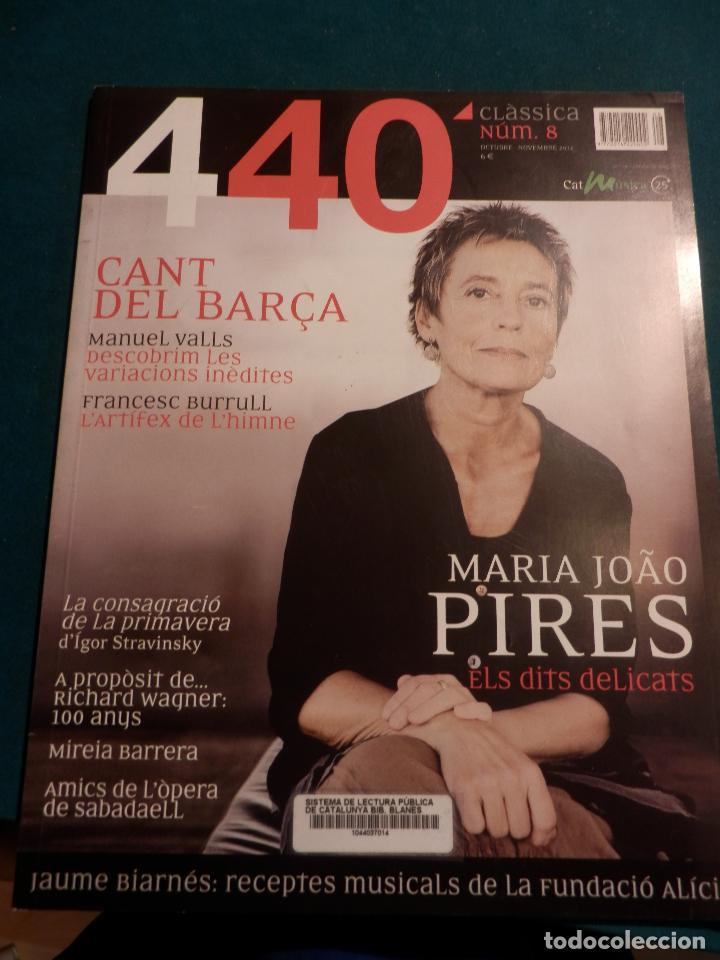 Revistas de música: 440 CLÀSSICA & JAZZ - LOTE 34 REVISTAS EN CATALÀ Nº 2-3-4-5-6-7-8-9-10-11-12-13-14-15-16-17-18-19... - Foto 7 - 65452894