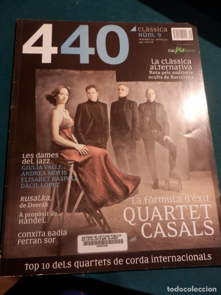 Revistas de música: 440 CLÀSSICA & JAZZ - LOTE 34 REVISTAS EN CATALÀ Nº 2-3-4-5-6-7-8-9-10-11-12-13-14-15-16-17-18-19... - Foto 8 - 65452894