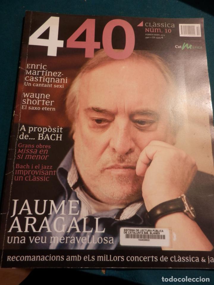 Revistas de música: 440 CLÀSSICA & JAZZ - LOTE 34 REVISTAS EN CATALÀ Nº 2-3-4-5-6-7-8-9-10-11-12-13-14-15-16-17-18-19... - Foto 9 - 65452894