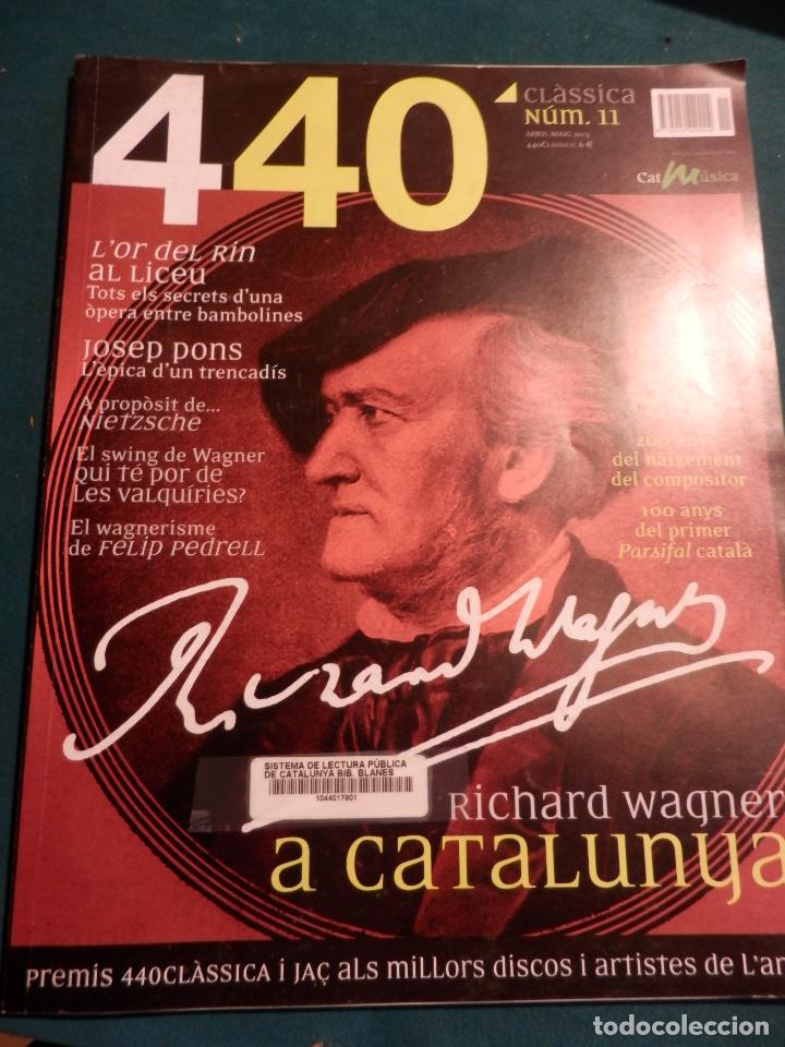Revistas de música: 440 CLÀSSICA & JAZZ - LOTE 34 REVISTAS EN CATALÀ Nº 2-3-4-5-6-7-8-9-10-11-12-13-14-15-16-17-18-19... - Foto 10 - 65452894